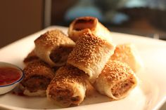 Delicious Moments: Australian Favourite homemade sausage rolls