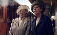 What a wonderful due these two have been in Season 5 of Downton Abbey
