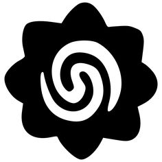 TATTOO TRIBES: Tattoo of Borneo rosette, Protection, valiance tattoo,rosette borneo tattoo - royaty-free tribal tattoos with meaning