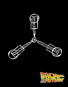 Back To The Future Movie Poster by Rosaura Grant, via Behance