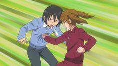 Danshi Kokosei no Nichijou School Boy, High School, Danshi Koukousei No Nichijou, School Rumble, Comedy Anime, Japanese Cartoon, Super Funny, Me Me Me Anime, Pretty Cool
