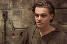#gif_of_leo Leonardo DiCaprio While young