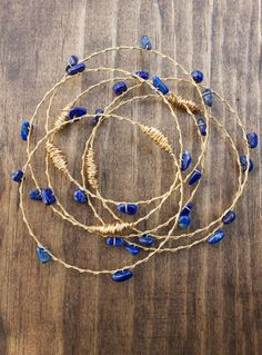 Guitar string jewelry - Lapis Bangles Set Made From Recycled Guitar Strings from New Orleans Choose Your Own Ston – Guitar string jewelry Guitar String Jewelry, Wire Jewelry, Handmade Jewelry, Jewelry Findings, Beaded Jewelry, Guitar Tips, Guitar Lessons, Guitar Songs, Guitar Bag