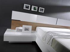 #styl #MueblesMesegue Sofisticación  y calidez natural mezclados en este dormitorio de diseño.