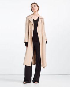 Imagem 1 de GABARDINA FLUIDA da Zara