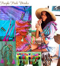 INDY Ibiza colourful scarves and Ibiza jewelry! #feathers #bags #jewels www.indyibiza.com
