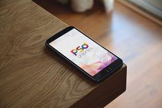 Free Phone Mockup PSD   PSD Graphics   #free #photoshop #mockup #psd #phone #smartphone