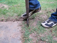 Easy Edging Techniques >> http://blog.diynetwork.com/maderemade/2015/05/27/diy-sidewalk-driveway-edging-tools/?soc=pinterest