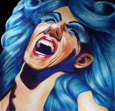 Amanda Plill  Acrylic on canvas  Size 30 x 30cm  © copyright protected