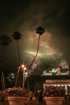 July 4, Rose Bowl. Pasadena, CA