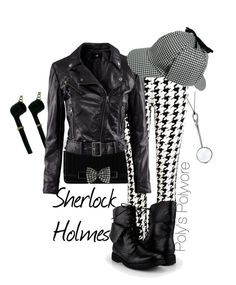 """""""Sherlock Holmes"""" by polyspolyvore ❤ liked on Polyvore featuring Elsa Peretti, Ted Baker, Vibe Harsløf, River Island, H&M, women's clothing, women's fashion, women, female and woman"""