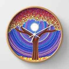 Secret Life of Trees Wall Clock