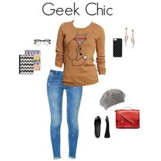 Geek Chic Outfits | Geek Chic Outfit