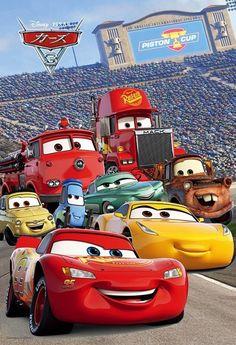 Ideas Wall Paper Disney Ariel Beautiful For 2019 Disney Pixar Cars, Disney Cars Party, Disney Films, Disney Cars Wallpaper, Car Animation, Cars 3 Lightning Mcqueen, Festa Hot Wheels, Cars Party Favors, Car Party