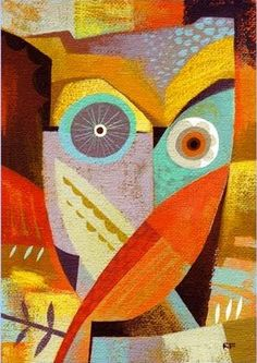 "owl from ""the Owl Series' by Richard Faust"