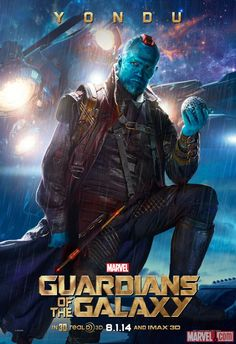 "Marvel has released three new character posters featuring John C. Reilly (Corpsman Dey), Glenn Close (Nova Prime), and Michael Rooker (Yondu). Marvel's ""Guardians of the Galaxy"" finds space adventurer Peter […] Marvel Comics, Marvel Avengers, Marvel Heroes, Poster Marvel, Comic Superheroes, Lego Marvel, Michael Rooker, Gardians Of The Galaxy, Marvel Universe"