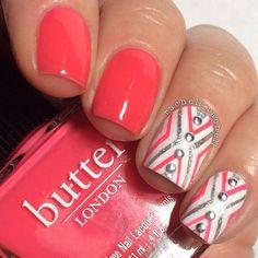 Pretty Painted Finger & Toes Nail Polish| Serafini Amelia| nails