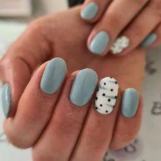 Pastel Blue Nails, Baby Blue Nails, Neon Nails, Art Nails, Winter Nail Art, Winter Nails, Summer Nails, French Nail Art, Blue Nail Designs