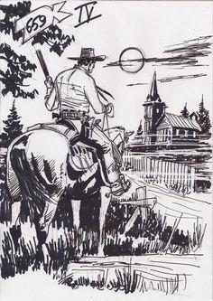 TEX WILLER BLOG » A capa (e os esboços alternativos) de Tex #659 ...