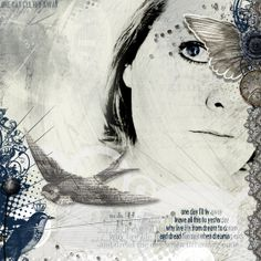 Jeanet Another one for my art journaling album. This time featured the song Fly…
