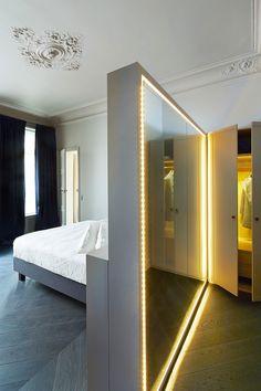 Квартира в Париже   Про дизайн Сайт о дизайне интерьера, архитектура, красивые интерьеры, декор, стилевые направления в интерьере, интересные идеи и хэндмейд