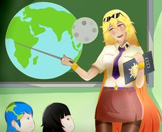 Sun-Sensei dando clases Popular Anime, Image Macro, Anime Style, 1, Family Guy, Earth, Solar System, Fictional Characters, Random