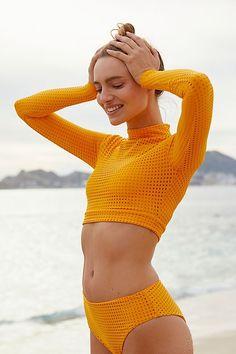 Swimwear Sale, Plus Size Swimwear, Swimwear Fashion, Bikini Swimwear, Long Sleeve Swim Top, Long Sleeve Bikini, Bathing Suits, Monokini, Swimwear
