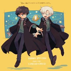 ama-paint: The Cursed Child Harry Potter Cursed Child, Harry Potter Disney, Cute Harry Potter, Harry Potter Artwork, Harry Potter Ships, Harry Potter Anime, Harry Potter Facts, Harry Potter Fandom, Scorpius And Albus