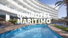 Hotel Grupotel Maritimo en Port d'Alcudia, Mallorca, España. Visita Grup...