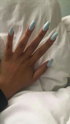 The most beautiful acrylic nails for the manicure in summer 2019 # nails # naildesigns # . - nails design - # Acrylic Nails the Summer Acrylic Nails, Best Acrylic Nails, Acrylic Nail Designs, Spring Nails, Fall Nails, Summer Nails, Blue Nails, My Nails, Long Nails