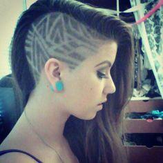 Love this hairtattoo