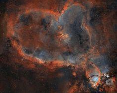 Melotte 15 - the Heart Nebula