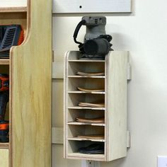 The Sandpaper Disc Storage Rack is all done and the post is live on FixThisBuildThat.com now. Head on over for a full tutorial and free build plans. You can whip this guy together in a couple hours and get organized. Tag someone who needs some organization in their shop! #shoporganization #tametheshop #fixthisbuildthat by fixthisbuildthat