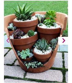 #vasirotti #riutilizzo #DIY #garden