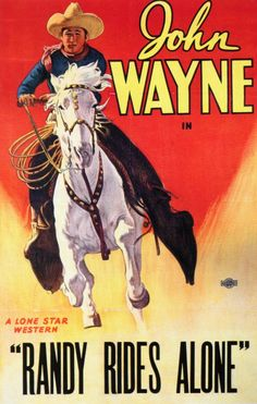 Randy Rides Alone is a Western film made in 1934. Description from snipview.com. I searched for this on bing.com/images