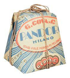 Beautiful Panettone packaging - Interesting style