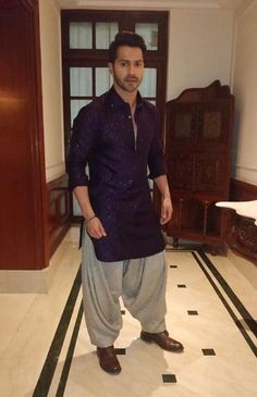 🎵A purple blaze Of sapphire haze In orbit always🎵 Outfit - Assisted by Wedding Kurta For Men, Wedding Dresses Men Indian, Wedding Dress Men, Wedding Wear, Wedding Suits, India Fashion Men, Indian Men Fashion, Men's Fashion, Fashion Suits