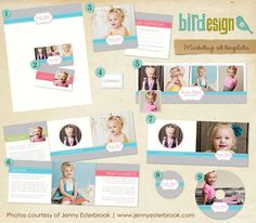 Marketing Set | Vibrant chevron