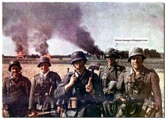 HISTORY IN IMAGES: Pictures Of War, History , WW2: WEHRMACHT GERMAN ARMY IN RUSSIA: LARGE STUNNING COLOR IMAGES
