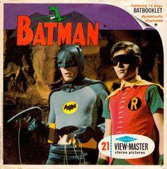 BATMAN 1966 View-Master set. Starring ADAM WEST as BATMAN, BURT WARD as ROBIN & JULIE NEWMAR as CATWOMAN (minkshmink)