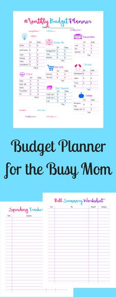 Free Printable Monthly Budget Worksheet | Monthly budget, Worksheets ...