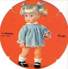 Arianna furga 35cm catalogo dolly do