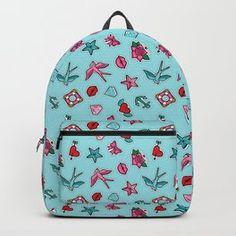 Kiss me twice Backpack Nostalgic Art, Outdoor Floor Cushions, Folding Stool, Freelance Graphic Design, Old Ads, Acrylic Box, Welcome Mats, Iphone Skins, Urban Art