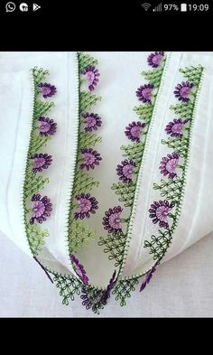The Color You Need to Admire Color Needle Lace Headscarf Writing Edge Models Needle Lace, Needle And Thread, Embroidery Jewelry, Hand Embroidery, Tatting, Festival Hippie, Lacemaking, Knitted Shawls, Baby Knitting Patterns