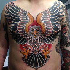 Traditional Eagle Traditional eagle bird tattoo