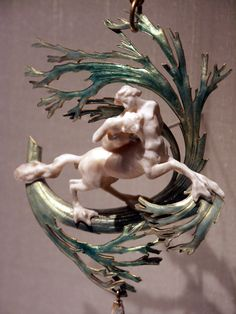 René Lalique. The Capture of Dejanira