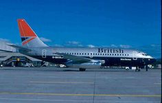 British Airways, G-BKYA, Boeing 737-236, 23159/1047, 1985, test livery