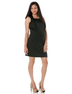 Motherhood Maternity: Short Sleeve Belted Maternity Dress Motherhood Maternity. $14.99
