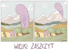 Pun in Polish, for my personal project. Worry not about language and just enjoy illustration:)