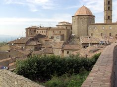 Volterra, Italy; another place I saw in a TV show and want to visit